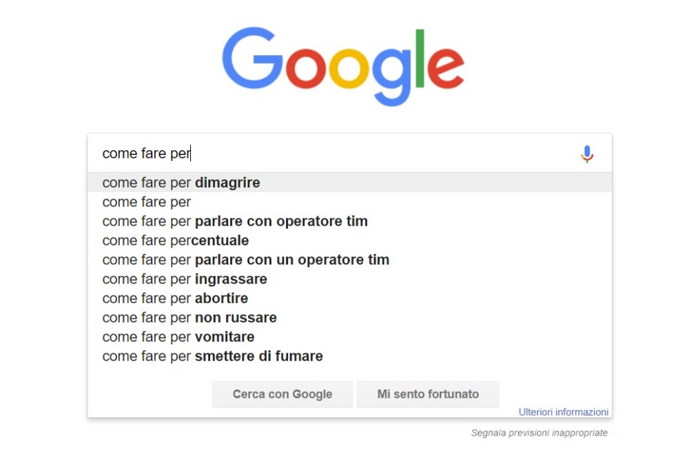 autocompletamento google
