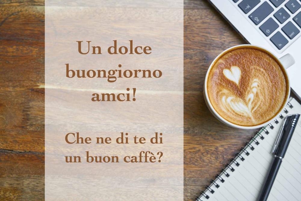 caffè con buongiorno