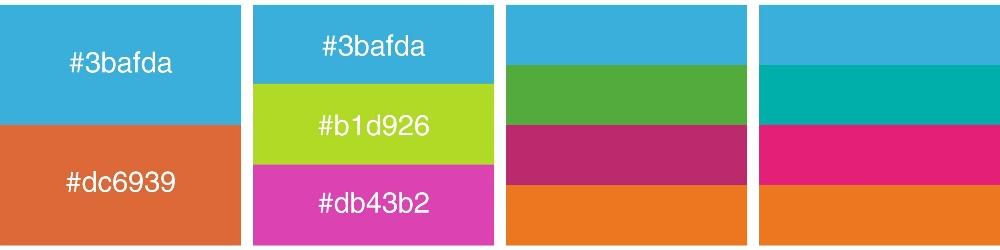 Accordi colori complementari esempi