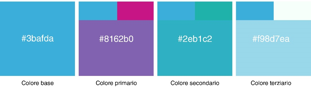 Accordi di colori tonali